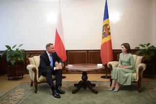 Prezydenci Polski, Ukrainy i Rumunii deklarują wsparcie dla proeuropejskiego kursu Mołdawii
