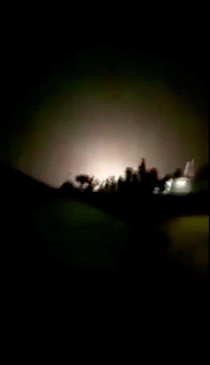 Atak rakietowy na amerykańskie bazy wojskowe