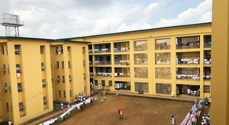Lagos begins construction of 14,000-bed capacity NYSC orientation camp. [pagesbybukky]