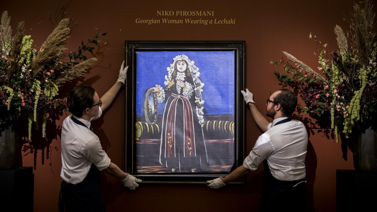 Pirosmani, malarz cerat i banknotów
