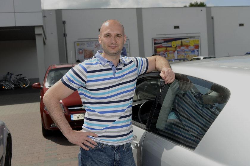 Maciej Niewiadomski (32 l.), kierowca z Wroclawia