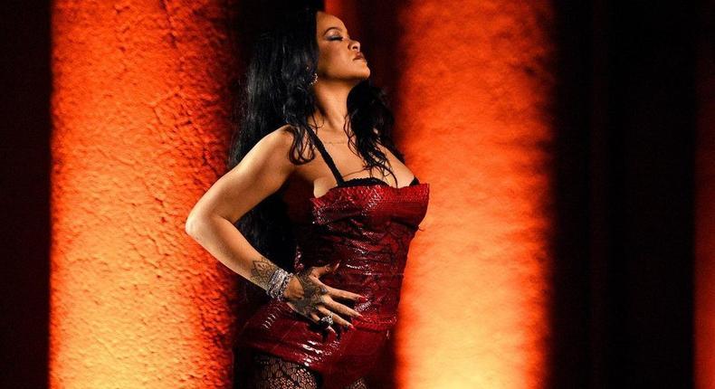 Rihanna modelling Savage x Fenty [instagram/savagexfenty]