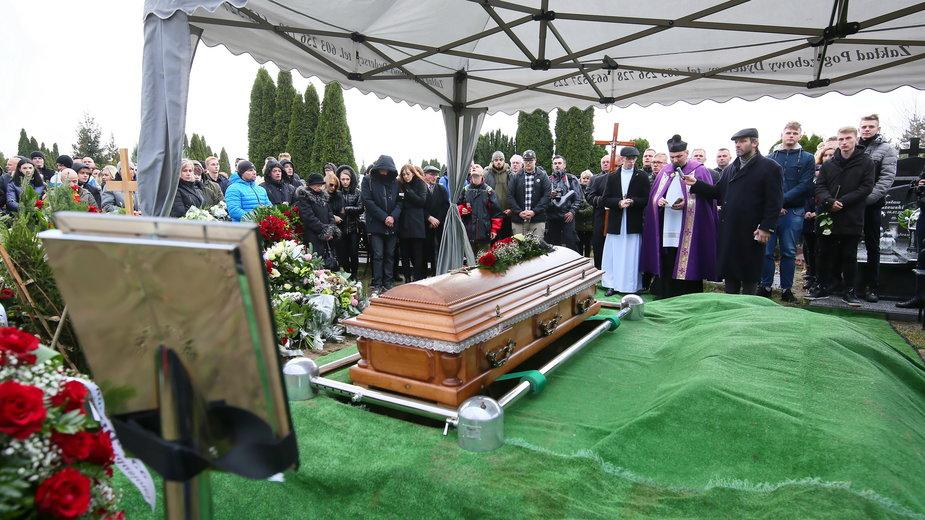 Uroczystości pogrzebowe 21-letniego Adama