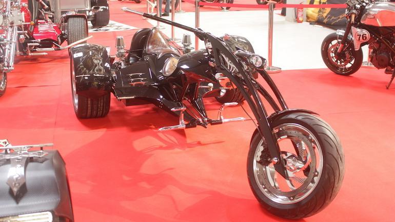 Wystawa motocykli w Nadarzynie – customy