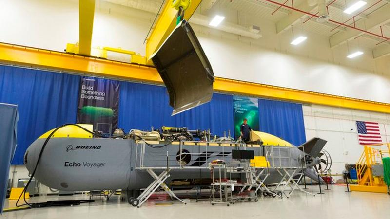 Echo Voyager - autonomiczny okręt podwodny Boeinga