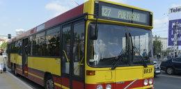 Pijany demolował autobus