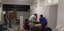 Telewizja pokazała śmierć pacjenta z koronawirusem. W kraju zawrzało