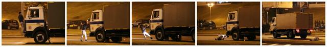 Sukob demonstranata sa policijom u Minsku
