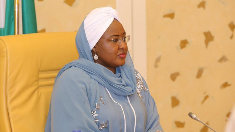 The Wife of the President, Mrs Aisha Buhari. [Twitter/@aishambuhari]