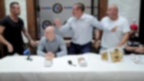 PLMMA 74: Najman i Trybson starli się podczas konferencji prasowej