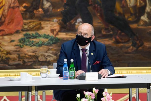 Minister spraw zagranicznych RP Zbigniew Rau