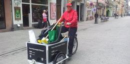 Patrole rowerowe posprzątają Stare Miasto