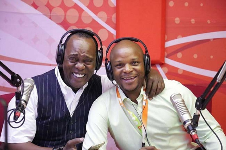 Jalango with Jeff Koinange on Hot 96