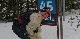 Justyna Kowalczyk chwali się psem! Pomaga jej?