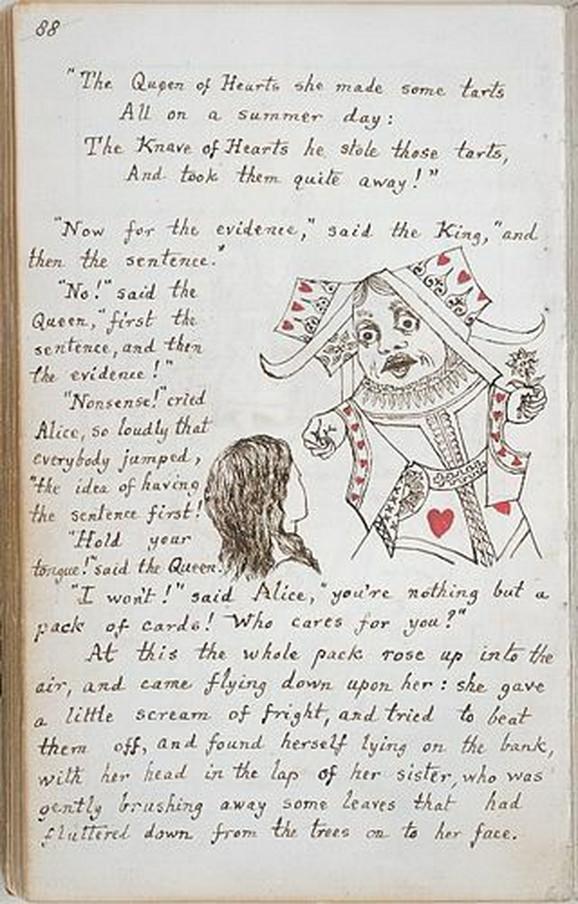 Stranica iz 1864.
