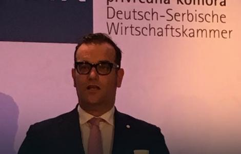Ronald Zeliger, predsednik Nemačko-srpske privredne komore