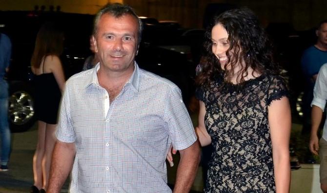 Dejan Savićevoć sa ćerkom Tamarom