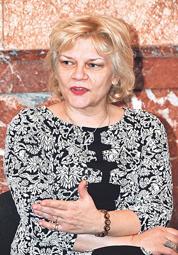 Suzana Kostić, dekan Fakulteta umetnosti