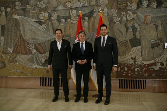 Veselin Jevrosimović, Sebastijan Kou i Vanja Udovičić