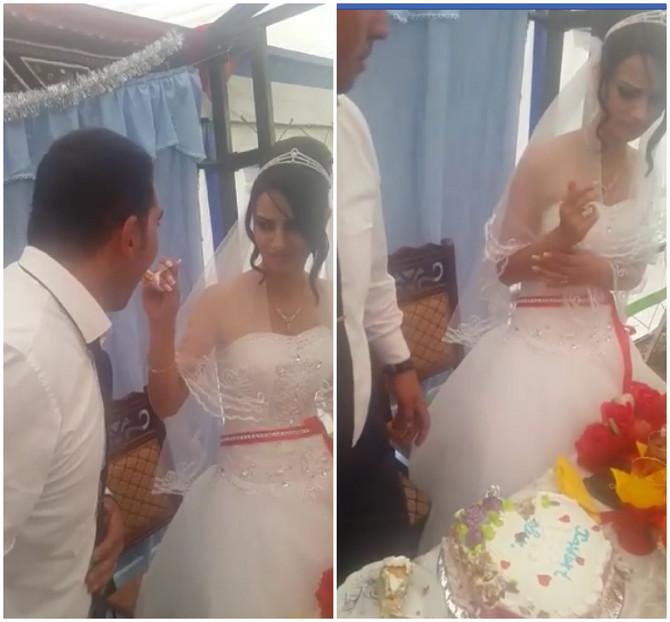 Uznemirujući prizor sa venčanja obilazi svet