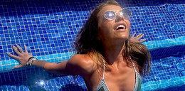 Edyta Herbuś przesadziła z opalaniem na urlopie: Ktoś tu się spiekł na raczka