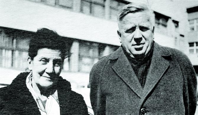 Branko Ćopić sa Desankom Maksimović
