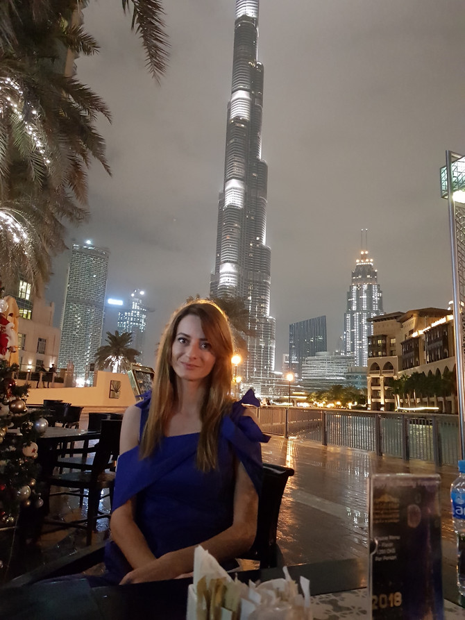 Gorica Ristić o korona virusu u Ujedinjenim Emiratima