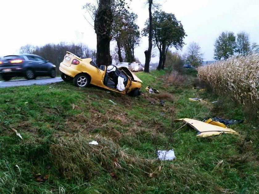 Tragiczny wypadek koło Radowic