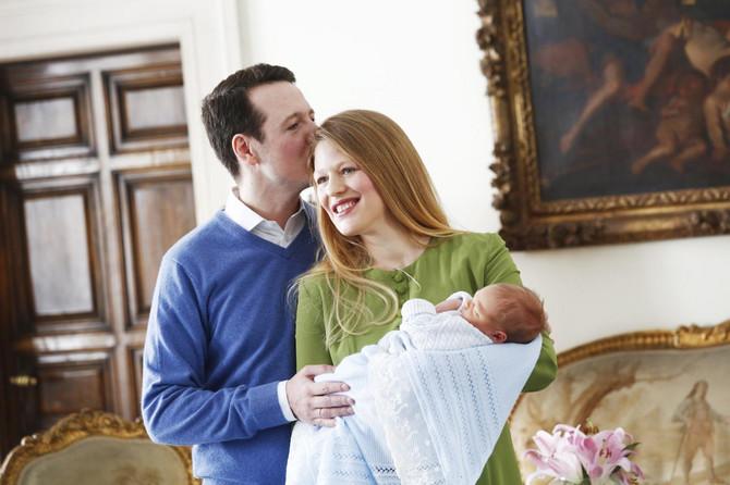 Danica sa Stefanom i suprugom princom Filipom Karađorđevićem