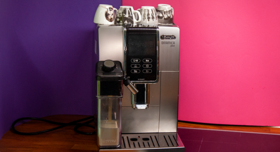 DeLonghi Dinamica Plus im Test: Kaffee-Vollautomat mit App