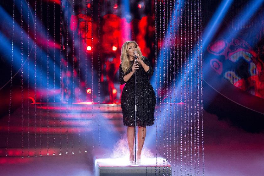 """Katarzyna Cerekwicka jako Adele w """"Twoja Twarz Brzmi Znajomo"""""""
