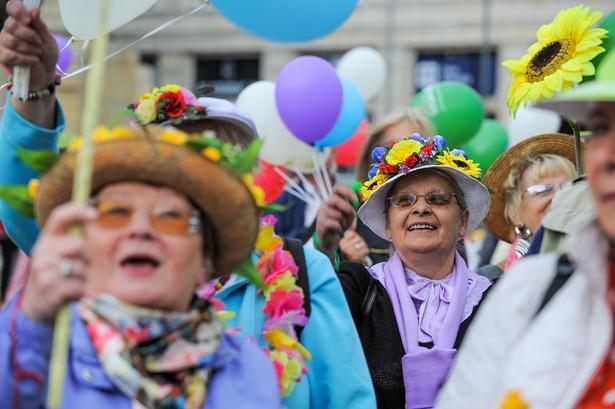 Parada Seniorów, Warszawa