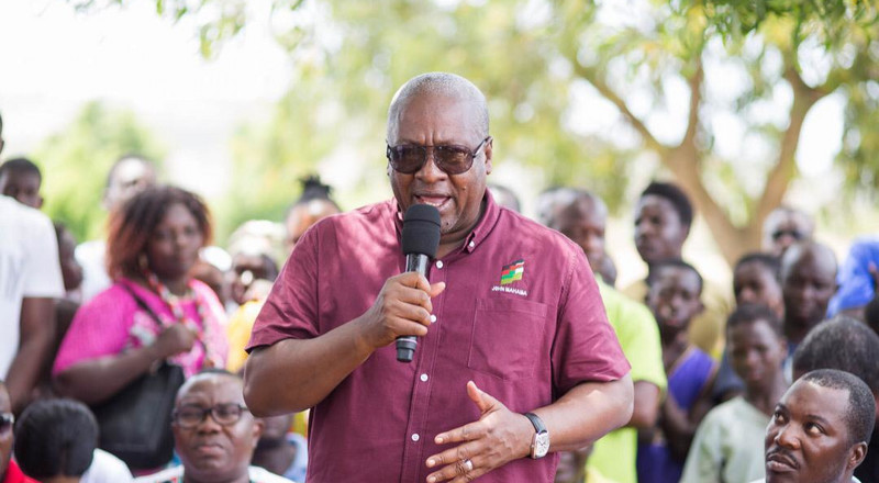 Akufo-Addo Gov't has abandoned all my projects – Mahama fumes