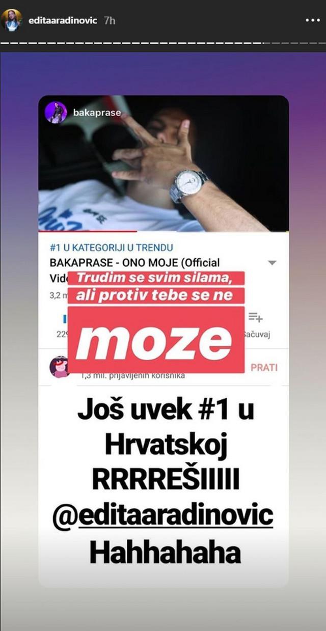 Prepiska između Baka Praseta i Edite Aradinović