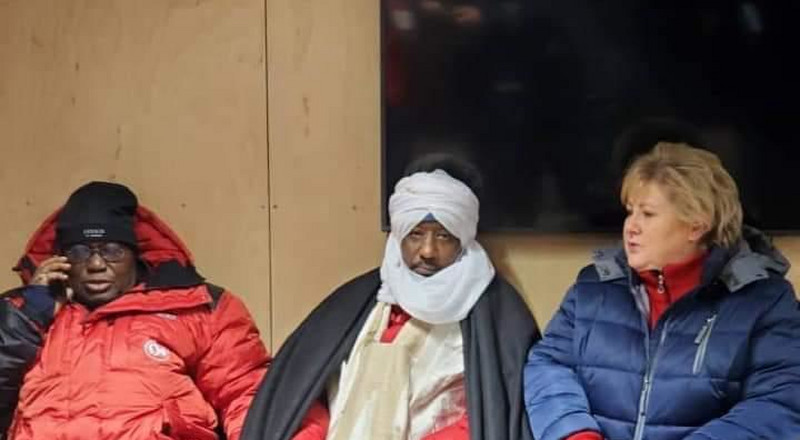 Photos of Ghana President dressed in winter apparel while in Norway break the internet