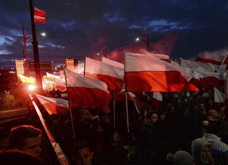 Poljska, protesti