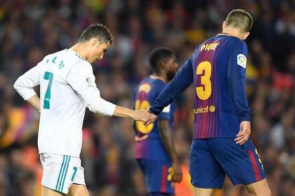 Kristijano Ronaldo i Barsin Žerar Pike od sada će se sastajati samo u Ligi šampiona ili na mečevima reprezentacija