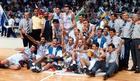 VREMEPLOV Kako su Srbi i Crnogorci osvojili košarkaški vrh Evrope pre 22 godine, a Hrvati kukavički pobegli /VIDEO/
