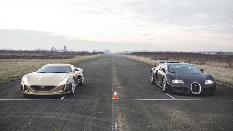 Bugatti kontra Rimac