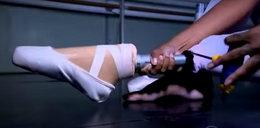 Baletnica z amputowaną nogą znów zatańczyła