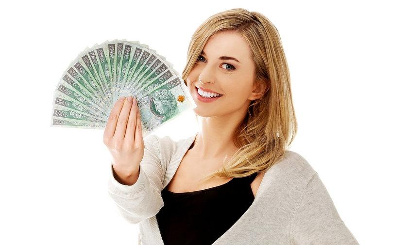 kobieta studentka student pieniądze