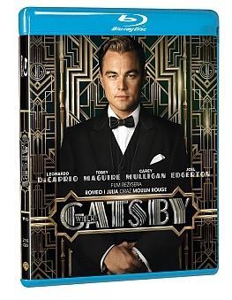 """""""Wielki Gatsby"""" - okładka wydania Blu-ray"""