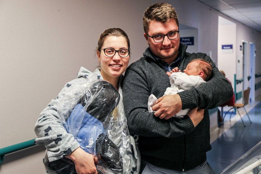 2019  noworodek urodzony w szpitalu Żeromskiego w Krakowie