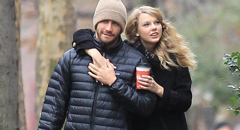 Taylor Swift and Jake Gyllenhaal in 2010
