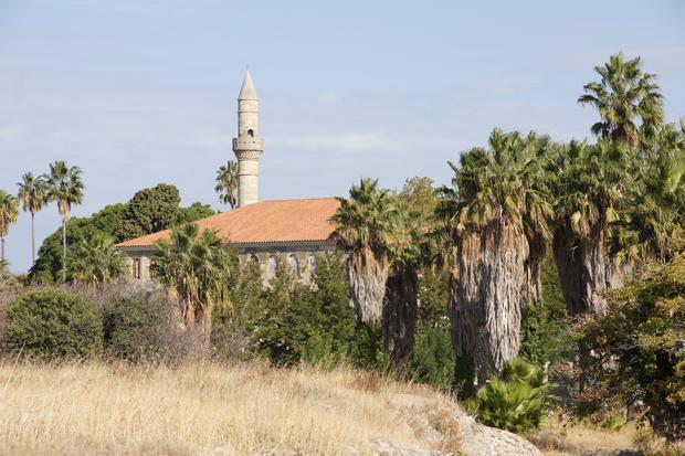 Widok na meczet Gazi Hassan Pasza