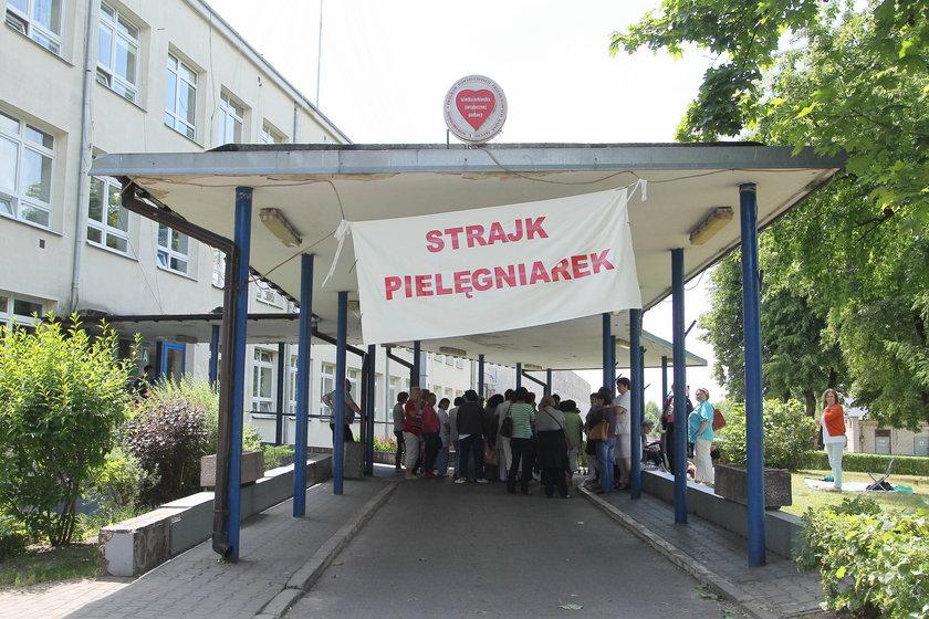 Strajk w Wyszkowie