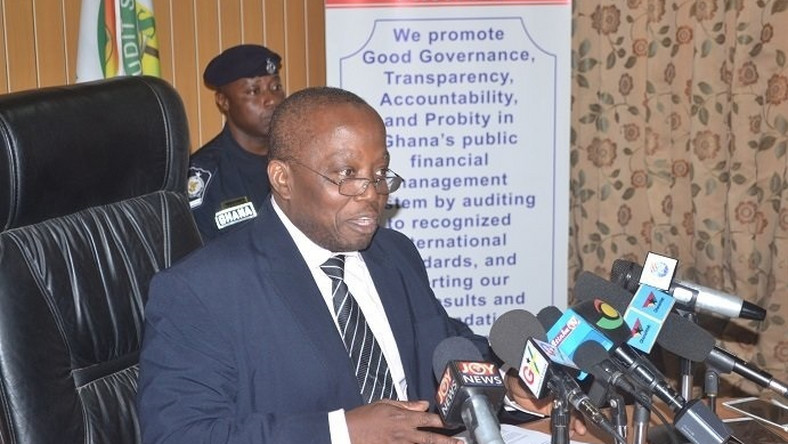 Auditor-General, Mr Daniel Yaw Domelevo