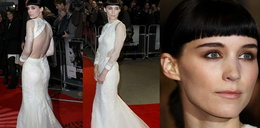 Stylizacja dnia: Rooney Mara w bieli