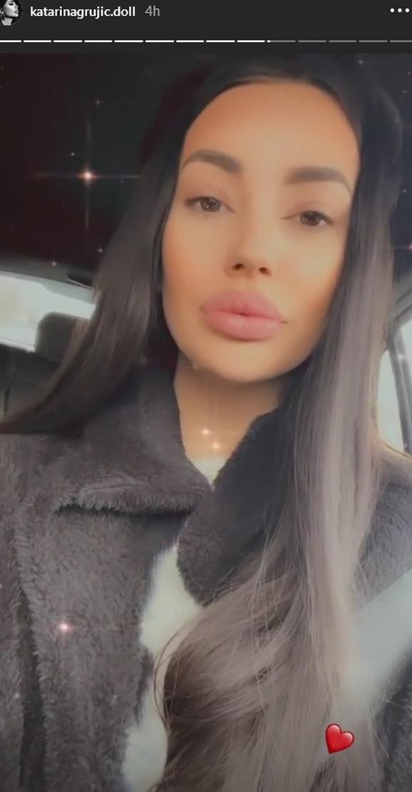 Katarina Grujić bez šminke