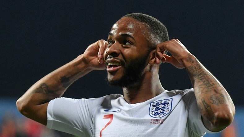 England's Raheem Sterling spoke out after alleged racist abuse in Monday's 5-1 win over Montenegro